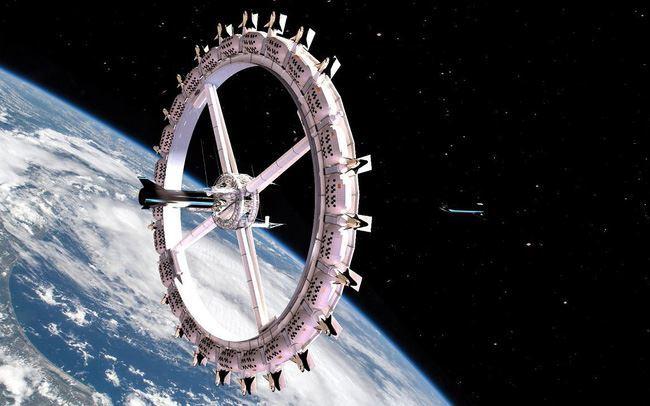 """""""Khách sạn ngoài vũ trụ đầu tiên khởi xây vào năm 2026"""
