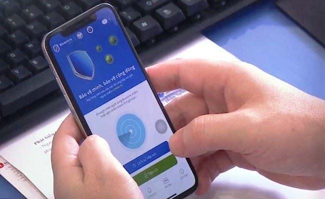 Ứng dụng Bluezone cập nhật thêm tính năng mới