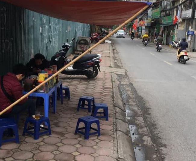 Từ 17h ngày 3/5, Hà Nội tạm dừng các quán ăn, uống đường phố, trà đá, cà phê vỉa hè