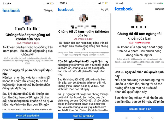 Hàng loạt người dùng Facebook tại Việt Nam bị khóa tài khoản không rõ lý do