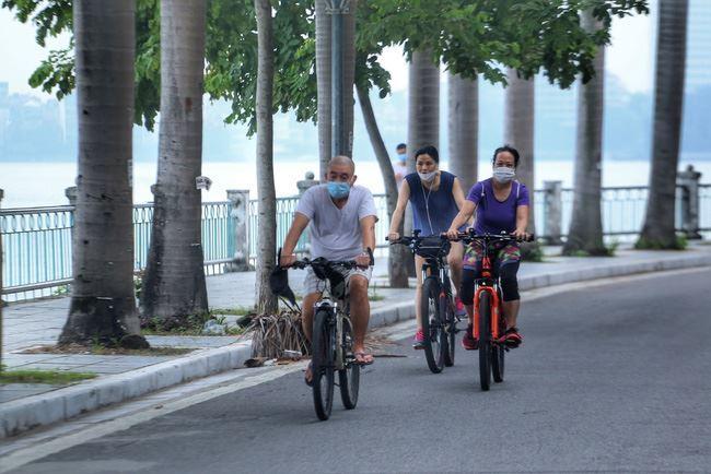 Từ 28/9, Hà Nội cho phép hoạt động trở lại thể dục thể thao ngoài trời