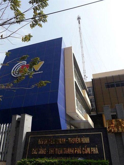 RTB phát sóng truyền hình số tại trạm Cẩm Phả