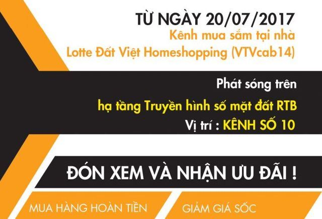 Kênh Lotte Đất Việt Homeshopping (VTVCab14)
